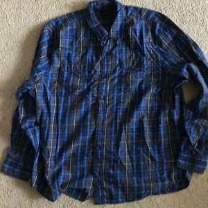 True Religion Long Sleeve Button Down